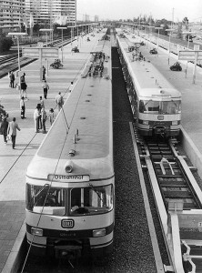 Olympia Bahnhof | Historisches Foto