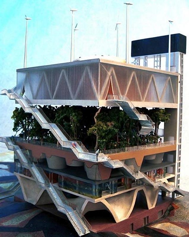 Niederländischer Pavillon EXPO 2000 | Modell