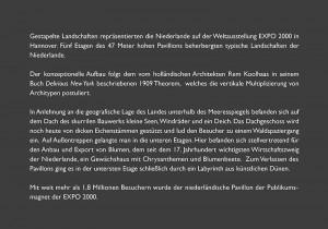 EXPO 2000 Netherlands Pavilion // Konzept