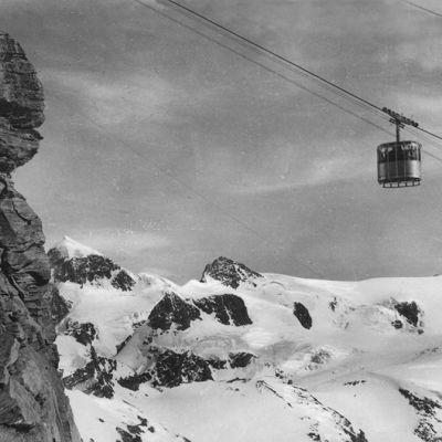 Furggen Seilbahn | Historische Postkarte