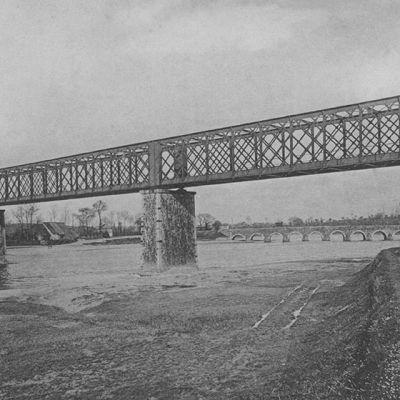 Pont de Bretagne à Pontaubault | Historische Postkarte