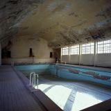 Schwimmbad im olympischen Dorf von 1936 in Berlin
