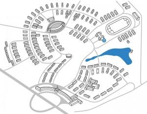 Olympisches Dorf | Dorfplan