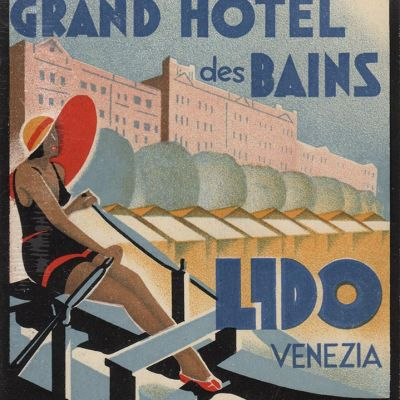 Grand Hotel des Bains | Kofferanhänger