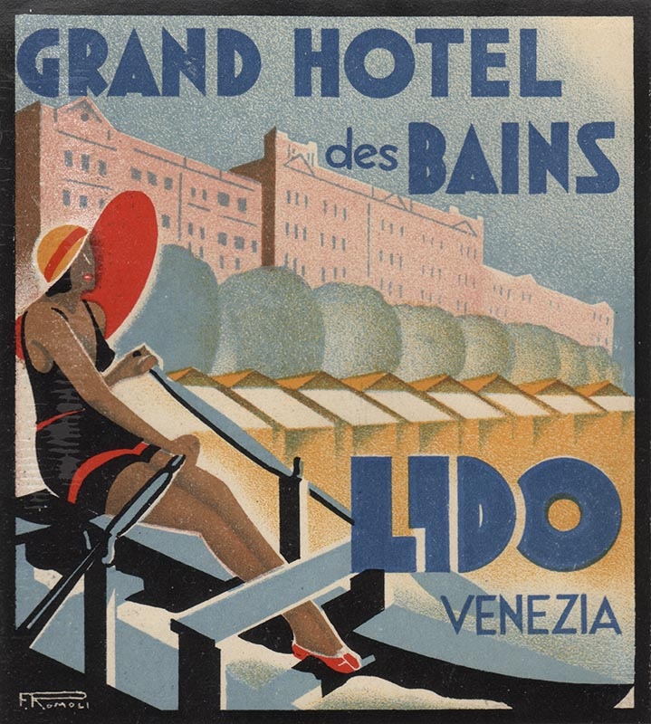 Hotel les Bains | Kofferanhänger
