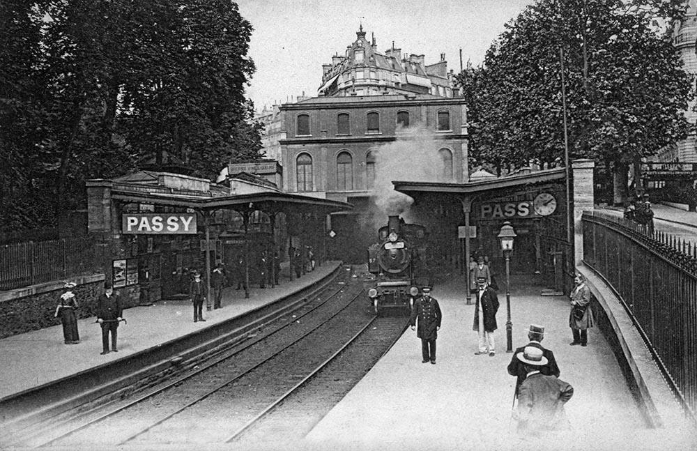 Petite Ceinture | Historische Postkarte