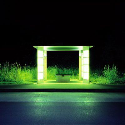 Helmut Giersiefen // LICHTBLICKE // BUSHALTESTELLE 01