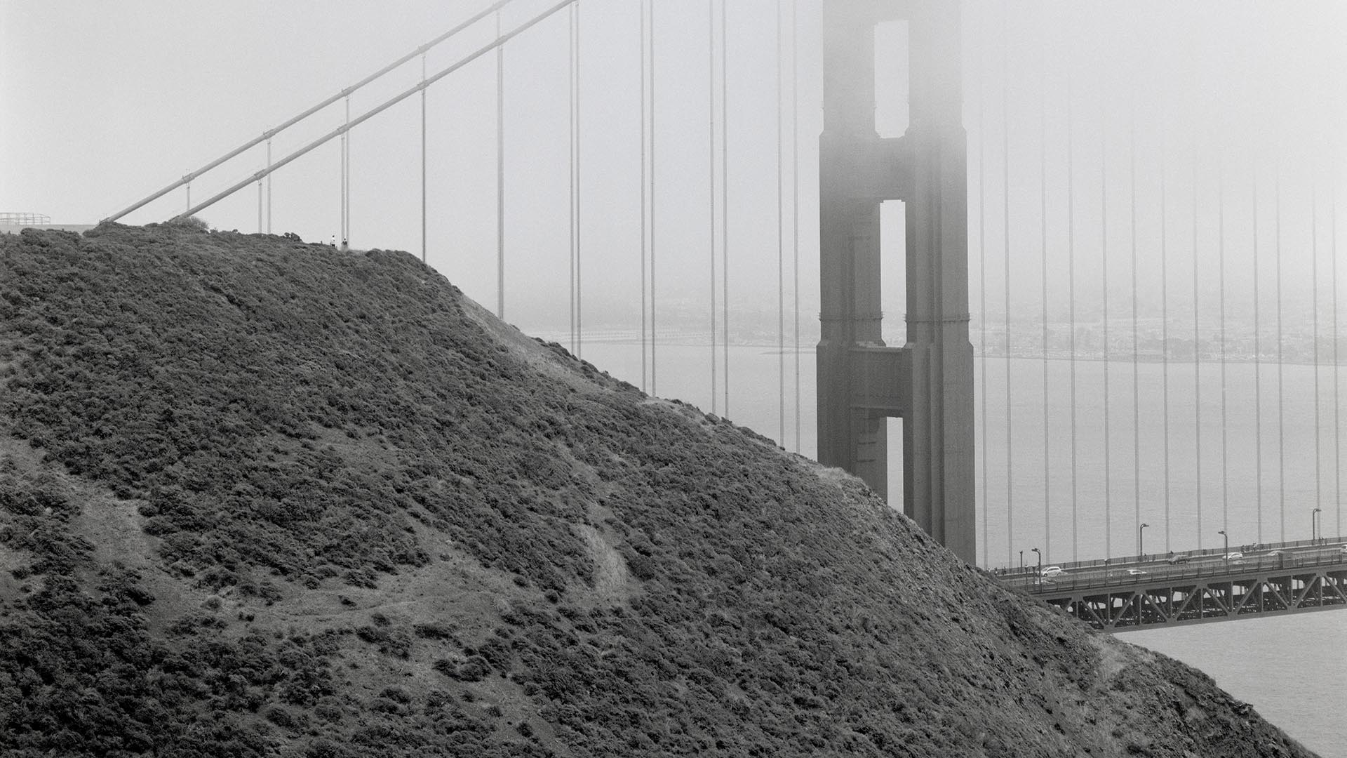 Helmut Giersiefen // LICHTBLICKE // Golden Gate Head